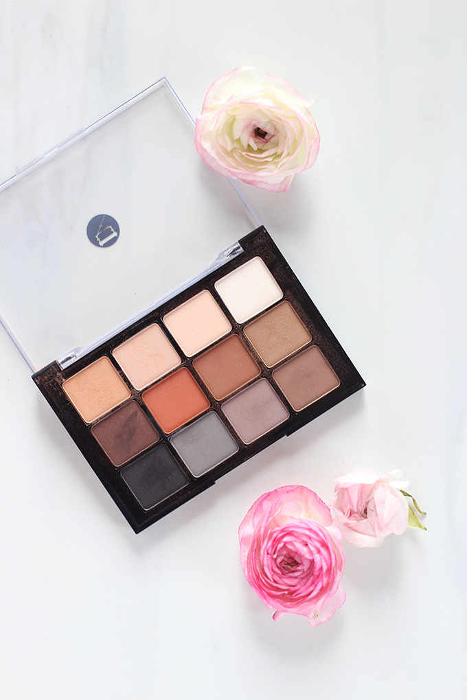 January 2017 Beauty Favourites   Viseart Eyeshadow Palette in 01 Neutral Matte Photos, Review, Swatches // JustineCelina.com