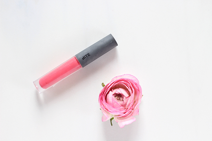 January 2017 Beauty Favourites | Bite Beauty Lush Fruit Lip Gloss Photos, Review, Swatches // JustineCelina.com