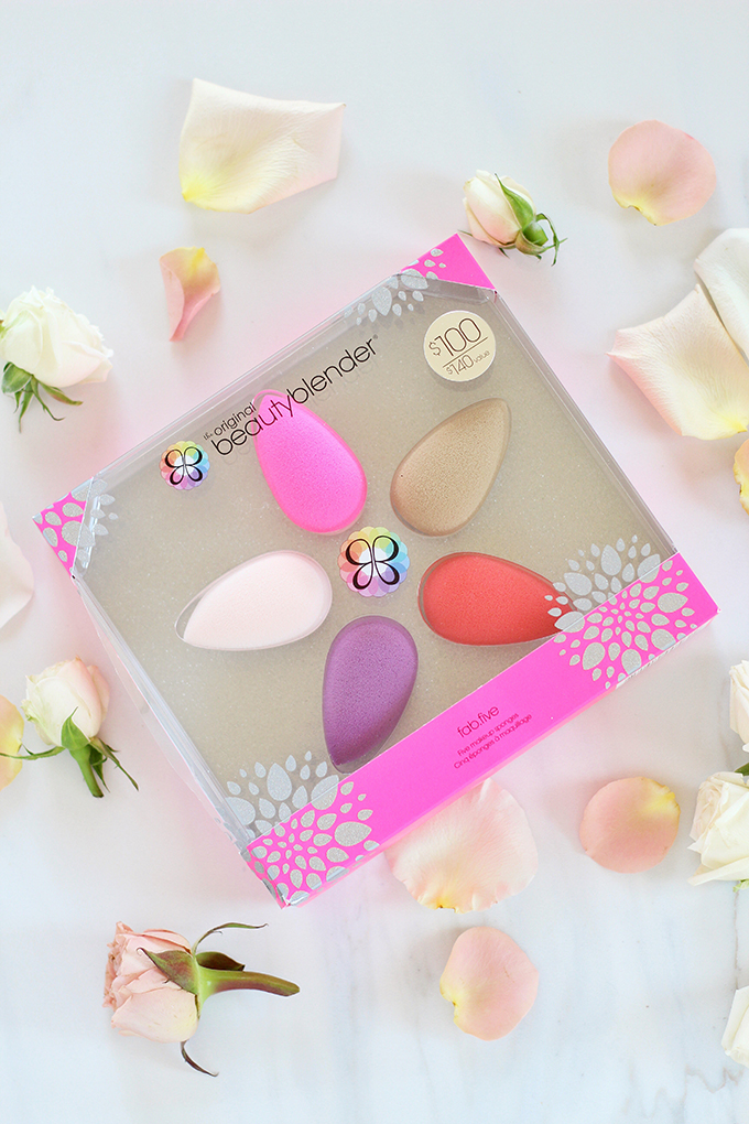 beautyblender fab.five Set Photos, Review // Spring 2017 Beauty Trend Guide // JustineCelina