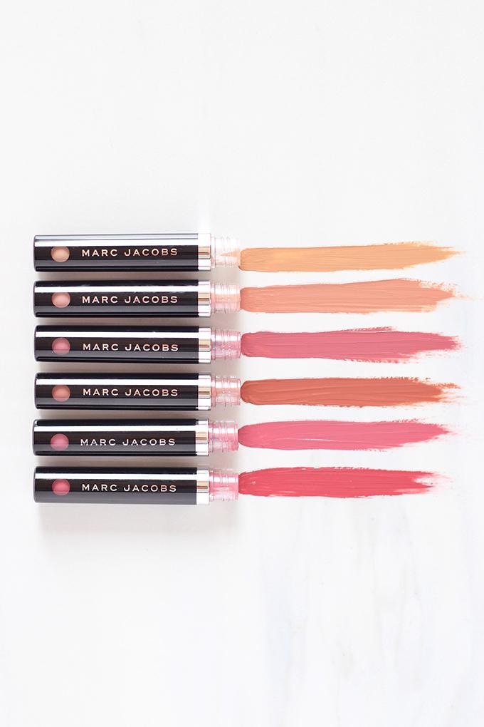 Marc Jacobs Beauty Le Marc Liquid Lip Crème Photos, Review, Swatches // JustineCelina.com