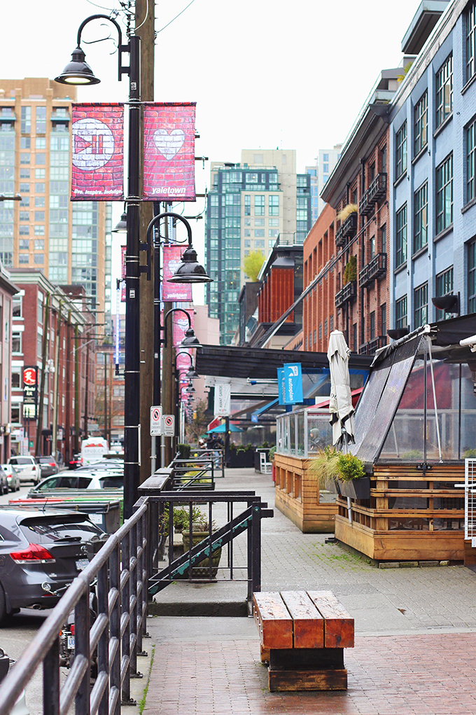 Vancouver Travel Guide | Mainland Street, Yaletown // JustineCelina.com