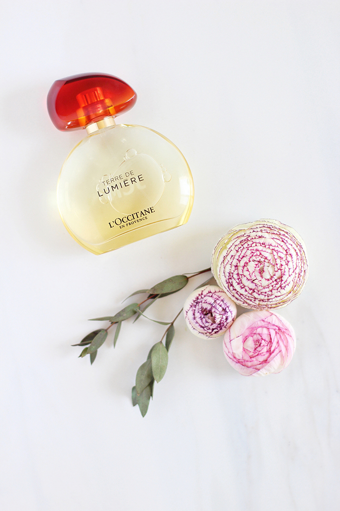 L'Occitane Terre de Lumière Eau de Parfum Photos, Review | April 2017 Beauty Favourites // JustineCelina.com