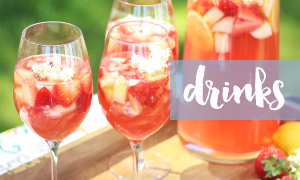 Browse my Cocktails and Sangria Recipes // JustineCelina.com
