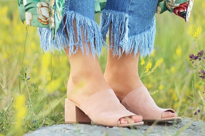 Summer 2017 Trend Guide | Kimono Love | Mules // JustineCelina.com