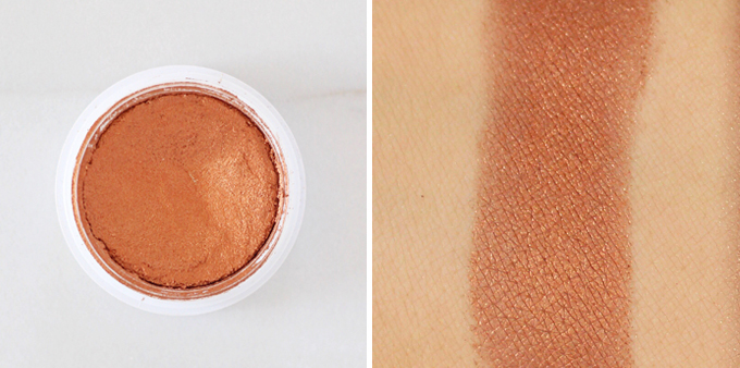 Colourpop Super Shock Shadow in Game Face Photos, Review, Swatches // JustineCelina.com