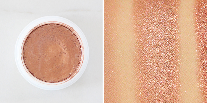 Colourpop Super Shock Shadow in La La Photos, Review, Swatches // JustineCelina.com