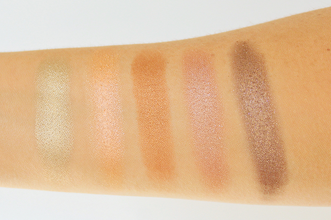 Colourpop Super Shock Shadows in Get Lucky, Flipper, KathleenLights, Amaze, Nillionaire | Photos, Review, Swatches on NC 30 skin // JustineCelina.com
