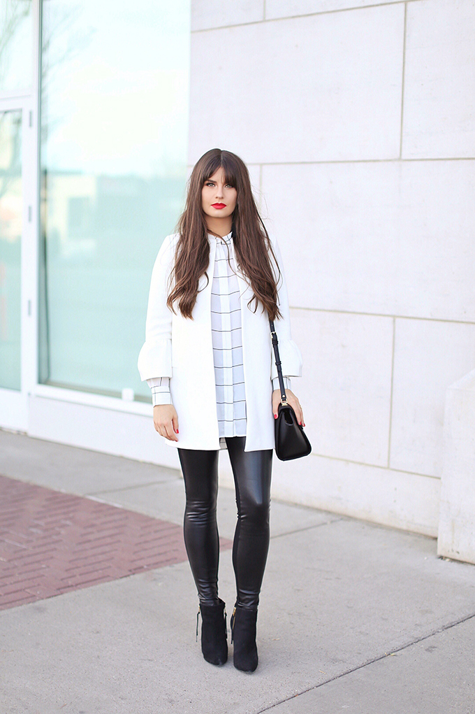 Autumn 2017 Trend Guide | Street Chic | Biggest Fall 2017 Trends | Checked Blouse // JustineCelina.com