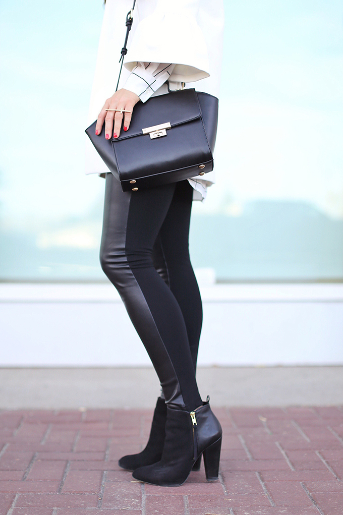 Autumn 2017 Trend Guide   Street Chic   Biggest Fall 2017 Trends   Best Leather Leggings for Fall 2017   Calgary Fashion Blogger // JustineCelina.com