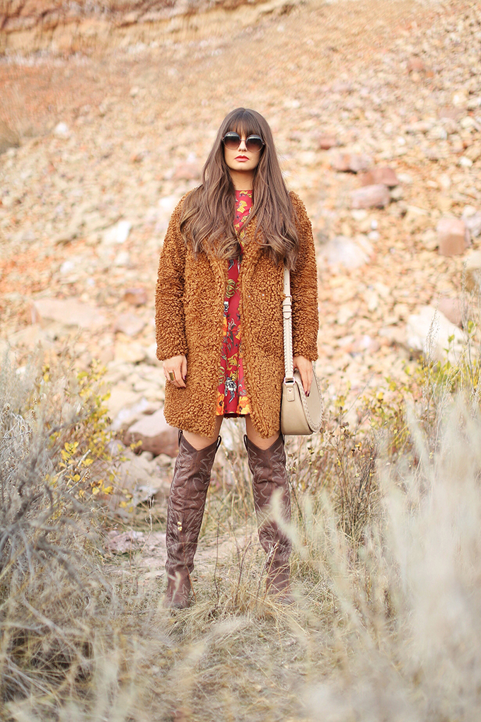 Autumn 2017 Trend Guide | That 70's Style | How to Style Teddy Bear Coats // JustineCelina.com