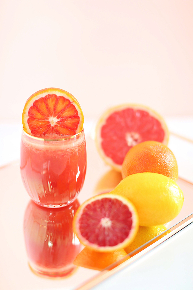 Citrus Season Elixir | The Best Fresh Pressed Citrus Juice // JustineCelina.com