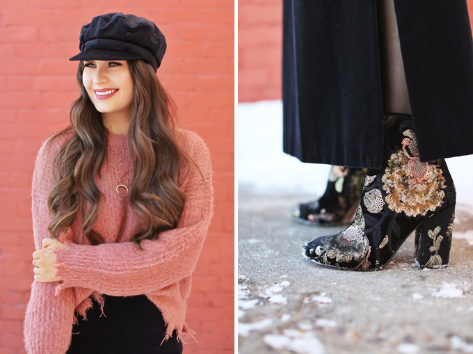 Winter 2018 Trend Guide | Velvet Underground | Key Winter to Spring Transitional 2018 Trends | Calgary, Alberta, Canada Fashion Blogger // JustineCelina.com