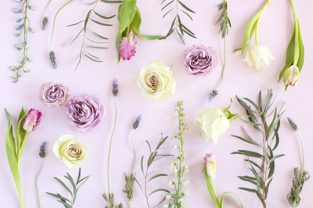 Digital Blooms March 2018 | Free Pantone Inspired Desktop Wallpapers for Spring | Free Lavender Floral Tech Wallpapers | Design 3 // JustineCelina.com x Rebecca Dawn Design