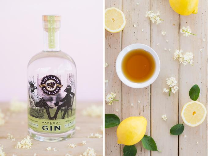 Japanese Lilac Gin Lemonade + Eau Claire Distillery Parlour Gin Giveaway! | The Best Spiked Lemonade Recipe | #RefinedSugarFree #Lemonade // JustineCelina.com