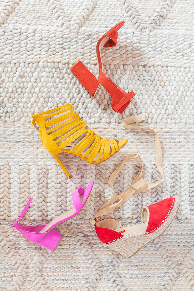 Transitional Shoe Guide | Summer to Autumn 2018 // The Best Shoes to Transition from Summer into Fall | Top Shoe Trends 2018 // JustineCelina.com