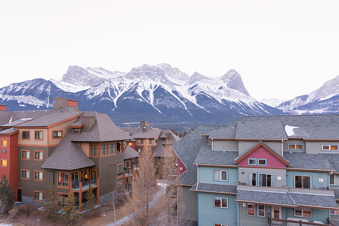 View at the Penthouse Suite at Blackstone Mountain Lodge in Canmore, Alberta | Calgary Lifestyle Blogger // JustineCelina.com