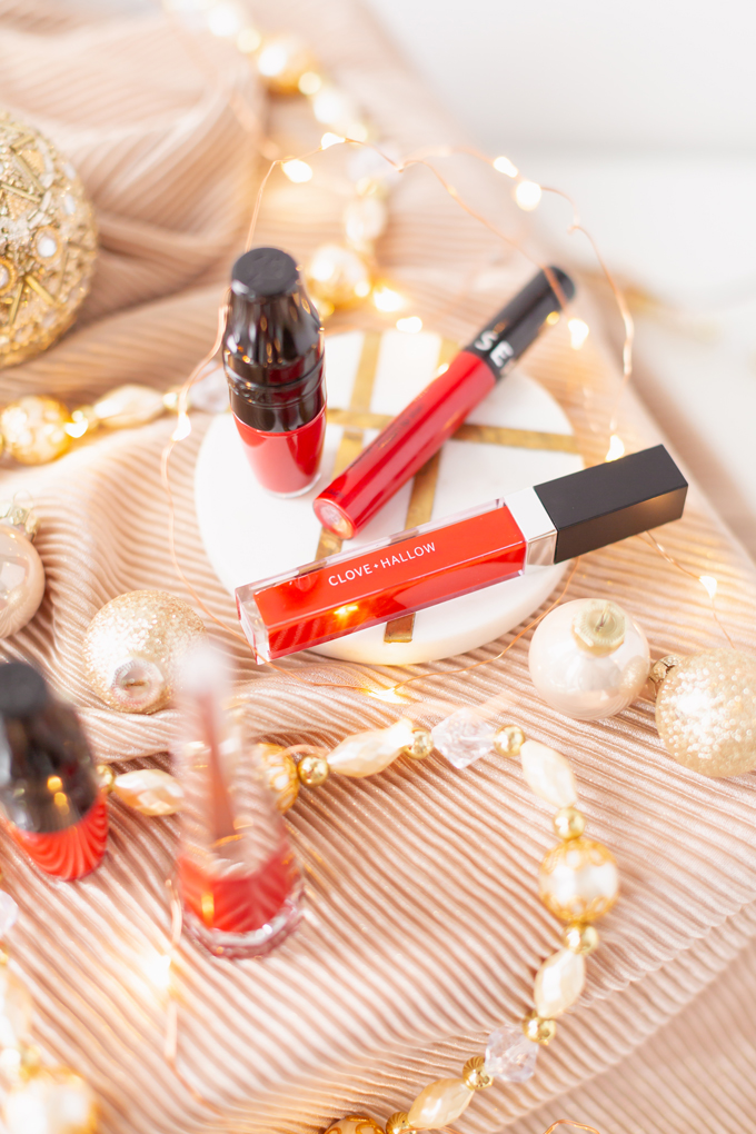 My Top 5 Red Lipsticks for the Holidays