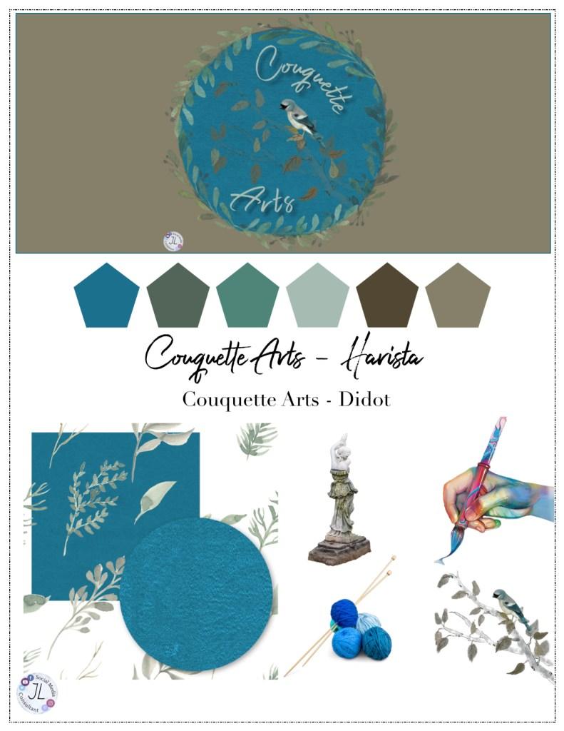 Brand Sheet couquette arts