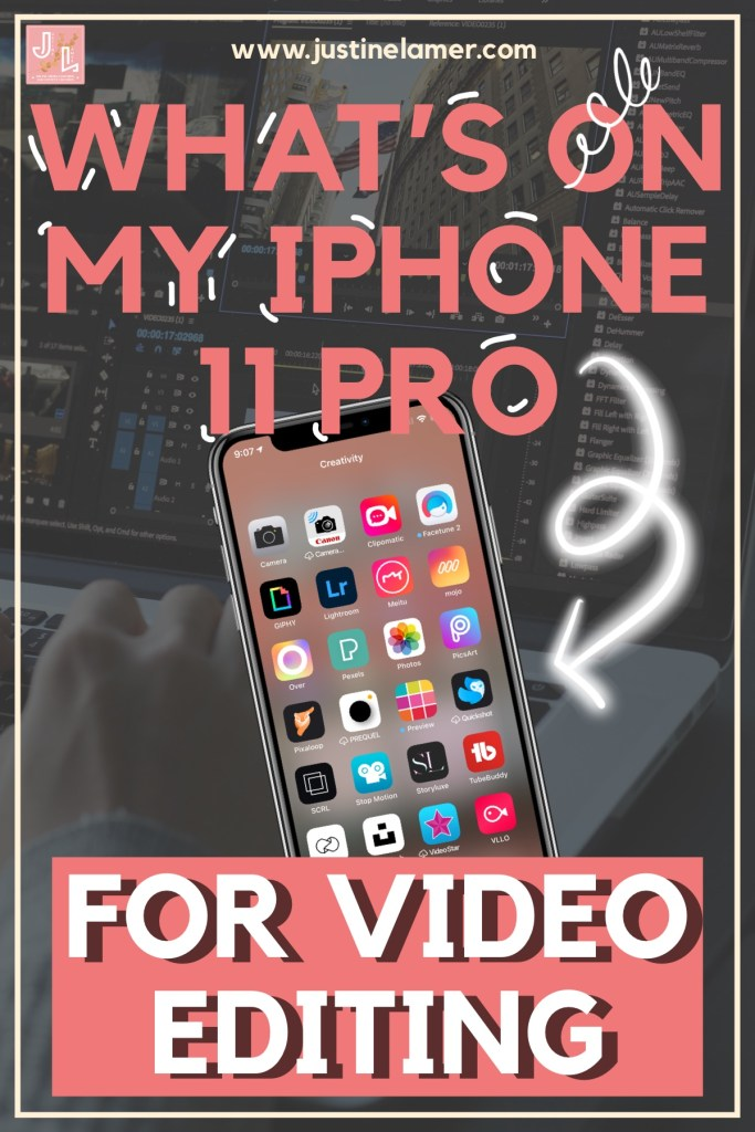 WHAT'S ON MY IPHONE 11 PRO FOR VIDEO EDITING