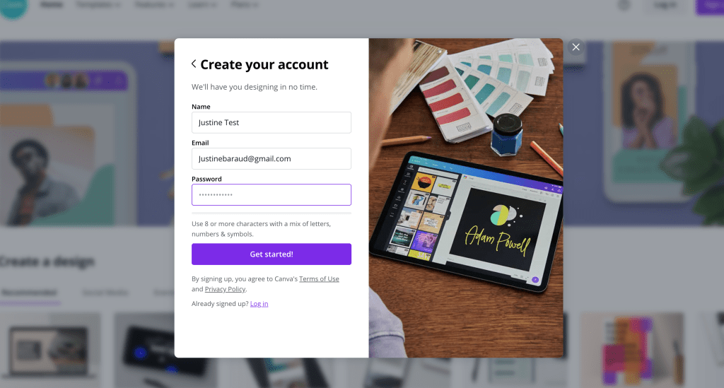 how to create a pinterest video pin in canva for free