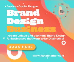 Brand design ad square