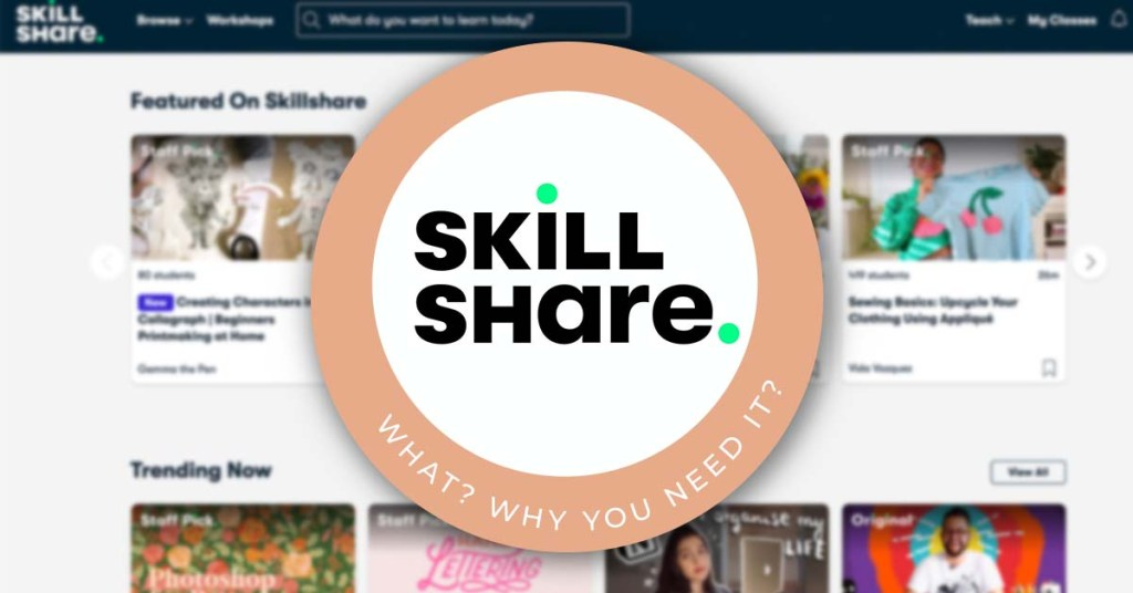 what is skillshare and why do you need it