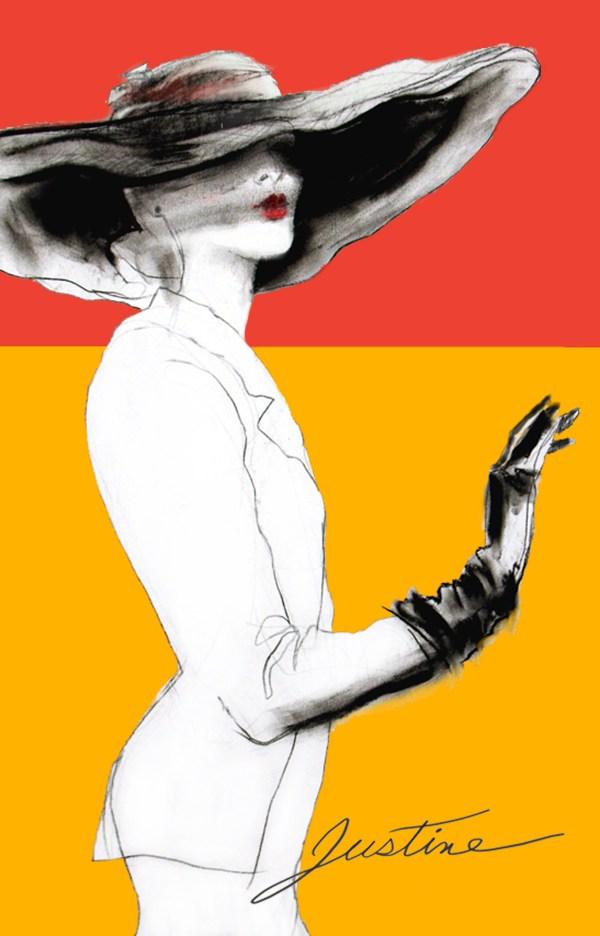 Drawing Fashion Hats Justine Limpus Parish'