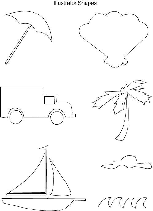 Pen Tool Shapes