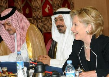 Alice & Wonderland: Hillary Clinton & Saudi Arabia?
