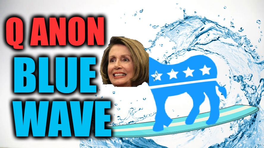 Q Anon Exposes FAKE NEWS 'Blue Wave'!