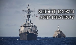 "Pres. Trump Orders Navy To ""Shoot Down"" All Iranian Gunboats Harassing US Ships"