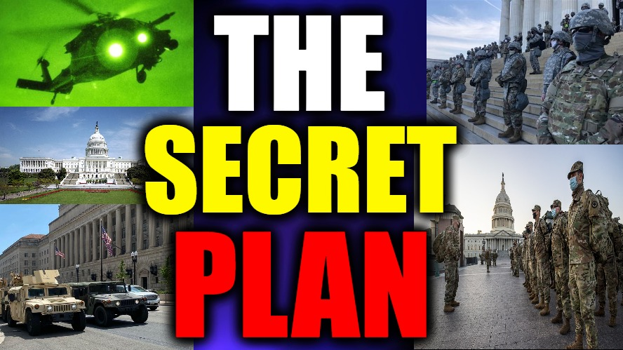 THE SECRET PLAN…