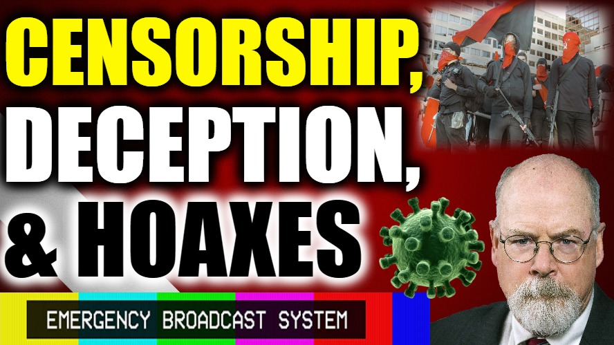 Censorship, Deception, & Hoaxes…