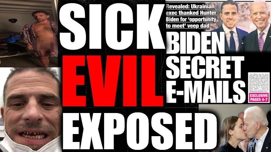 Corrupt MSM Doubles Down On Hunter Biden Lies, Big Tech Bloodlust, & More DEEP STATE Coverups…