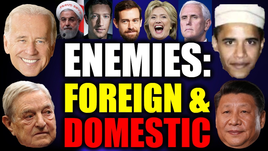 Are Foreign & Domestic Enemies Engaged In Non-Kinetic Warfare Against U.S. Since 2020 Election?