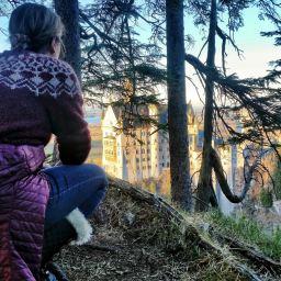 Neuschwanstein Castle:  A Hidden Viewpoint