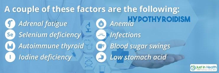 Hypothyroidism Common Factors