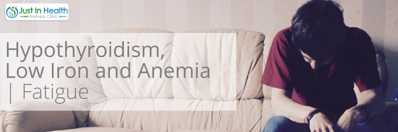 Hypothyroidism, Low Iron, and Anemia