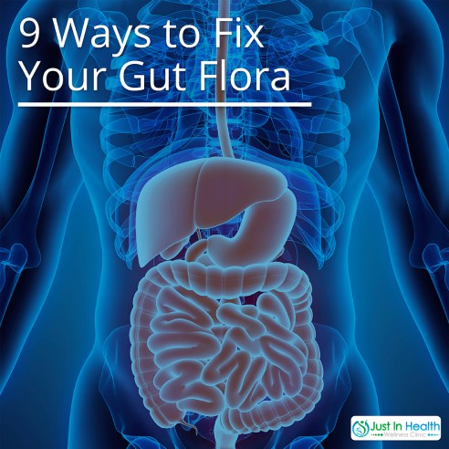 9 Ways To Fix Gut Flora