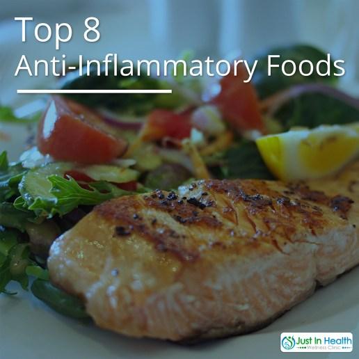 Top 8 Anti-Inflammatory Foods