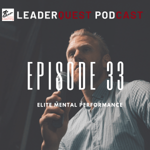 "Episode 33 Cover Art ""Elite Mental Performance"""