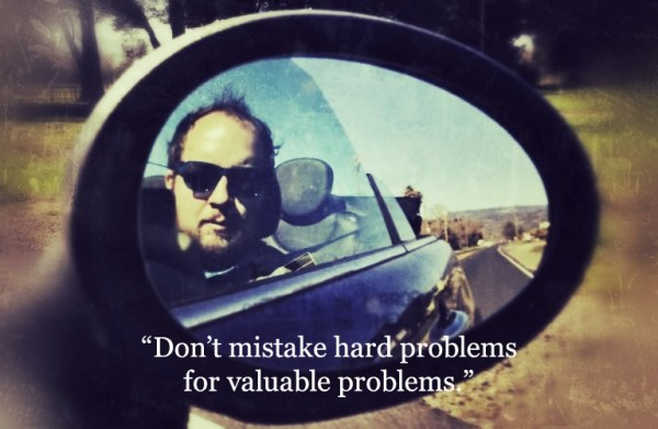 Ryan King from Twitter: don't confuse hard problems for valuable problems