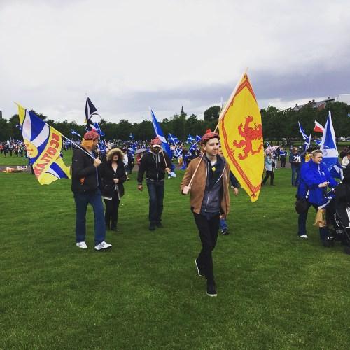 Scottish freedom march, 2017