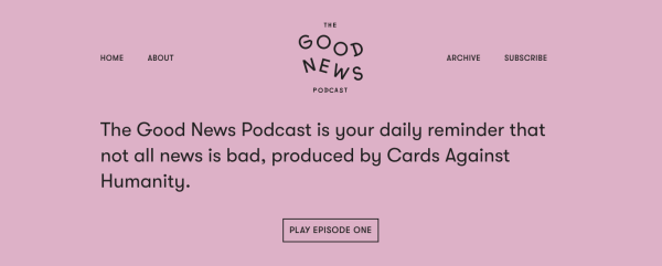 The Cards Against Humanity podcast hosted on Transistor.fm