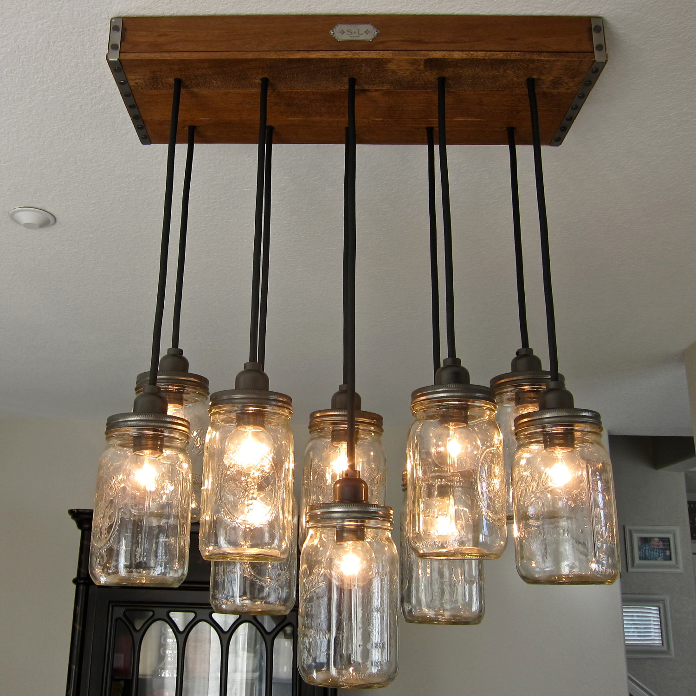 Jar Pendant Light Kit Mason Jar Light Diy Pendant Electrical Wiring