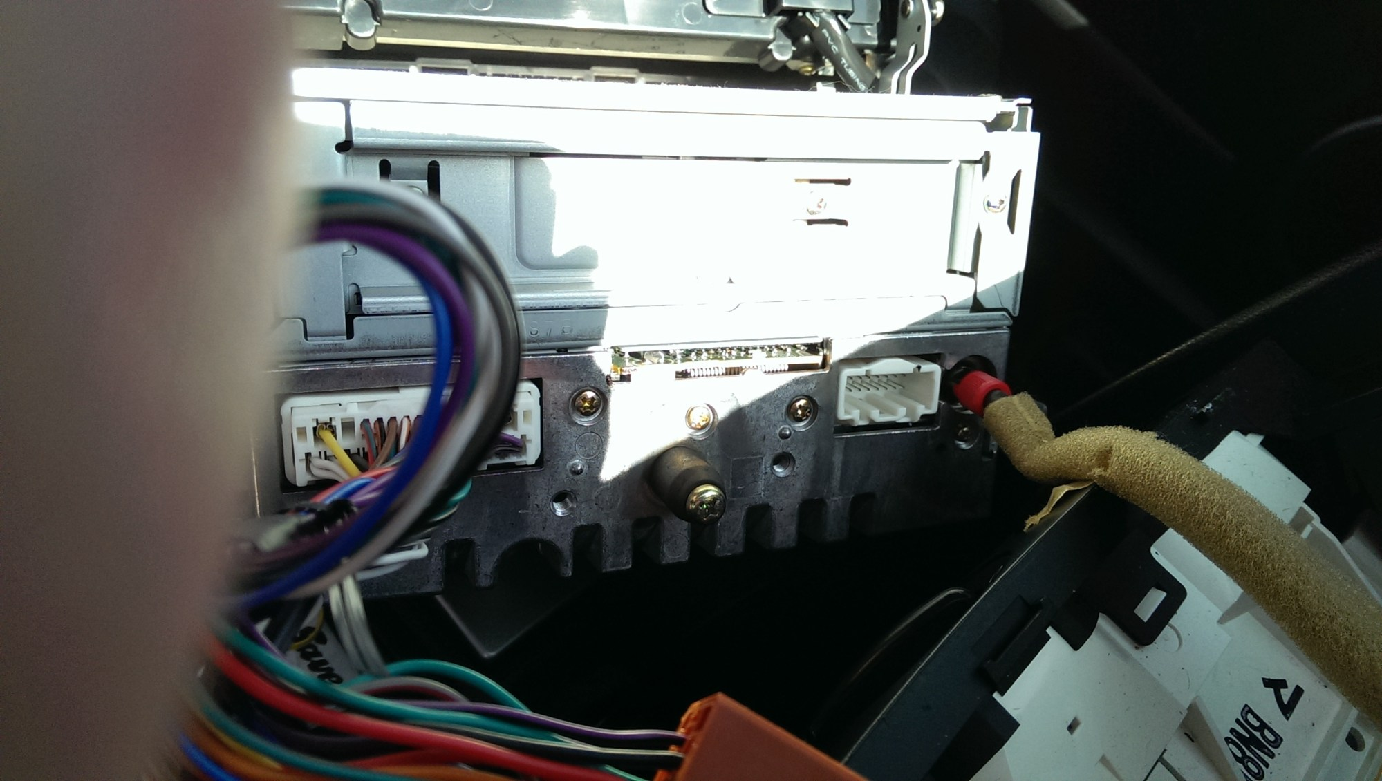 hight resolution of i went ahead and spliced the trigger wire from the factory harness into the pac module mazda 3