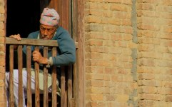 An Old Nepali Man