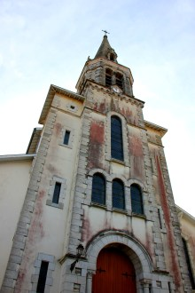 Church of St. Jacques le Majeur in Bidache