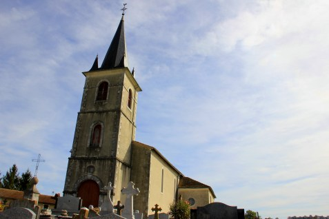 Church of St. Andre in Baigts-de-Béarn