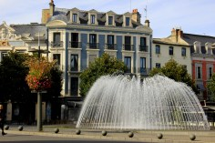 Central Square in Tarbes